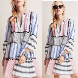 Anthropologie Dresses - NWT Anthro Devotion Petra tiered tunic dress